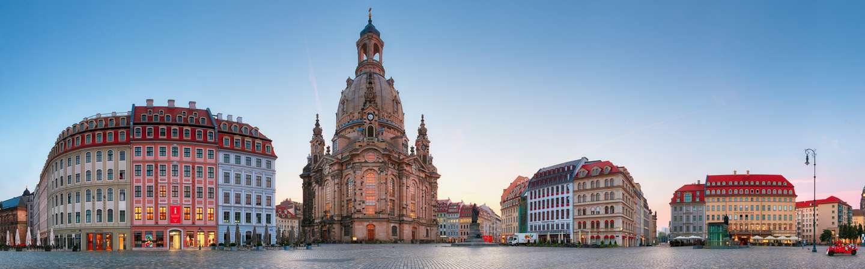 Dresden Reiseziel Frauenkirche